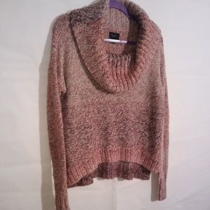 American Eagle Outfitters Pink and Purple Sweater